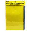 Ashley Productions ASH10830 Full Page Reading Guides Yellow