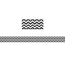 Ashley Productions ASH11014 Magnetic Magi-Strips Black Chevron