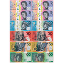 Ashley Productions ASH77819 Magnetic Australian Currency 12 Pc
