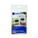 Avery Products AVE73303 Avery Oval 12Pk Removable - Chalkboard Labels 3 3/4X 1 3/4