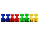Baumgartens BAUM66390 Kaleidoscope Magnets Small 8Pk
