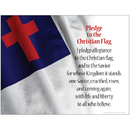 Barker Creek & Lasting Lessons BCPLL1034SCH Pledge To The Christian Flag Chart