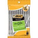 Bic USA BICGSMP101BK Bic Round Stic Ballpoint Pens Black 10Pk