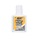 Bic USA BICWOFQD12WHIBN Bic Witeout Quick Dry, 12 EA