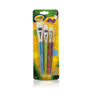 Crayola BIN053520 Crayola Big Paintbrush Set Flat 4Pk