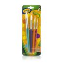 Crayola BIN053521 Crayola Big Paintbrush St Round 4Pk