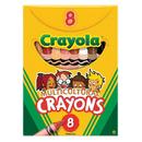 Crayola BIN080W Multicultural Crayons Large 8Pk