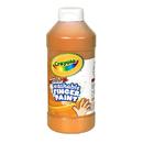 Crayola BIN131636 Washable Fingerpaint 16Oz Orange