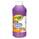 Crayola BIN131640 Washable Fingerpaint 16Oz Violet