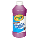 Crayola BIN201669 Washable Paint 16Oz Magenta