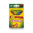 Crayola BIN3024 Crayons 24 Color Peggable