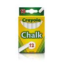 Crayola BIN320 12 Sticks - Tuck Box White Chalk
