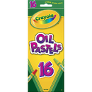 Crayola BIN524616 Oil Pastels 16 Color Set