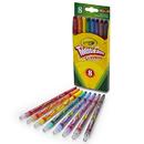 Crayola BIN527408 Twistables Crayons 8 Ct
