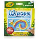 Crayola BIN588165 8Ct Washable Window Markers