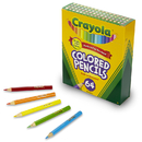 Crayola BIN683364 Colored Pencils 64 Count Half Length