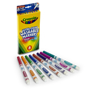 Crayola BIN7836 Washable Markers 8Ct Bold Colors Fine Tip