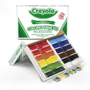 Crayola BIN8024 Colored Pencils 240 Ct Classpack 12 Assorted Colors Full Length