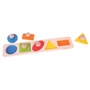 Bigjigs Toys BJTBB040 Matching Board Puzzle Shapes