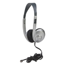 Califone International CAF3060AVS Multimedia Stereo Headphone Silver