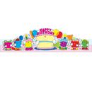 Carson Dellosa CD-0232 Birthday Crowns 2-Tier Cake 30/Pk