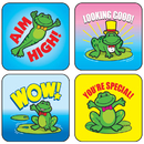 Carson Dellosa CD-0617 Stickers Frogs 120/Pk Acid & Lignin Free