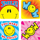 Carson Dellosa CD-0632 Stickers Smile Fun 120/Pk Acid & Lignin Free