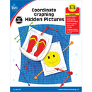 Carson Dellosa CD-104288 Coordinate Graphing Hidden Pictures Gr 3-5