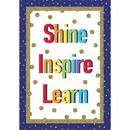 Carson Dellosa CD-106002 Sparkle & Shine Inspire Learn
