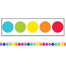 Carson Dellosa CD-108342 Stars Rainbow Big Dots Str Borders