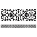 Carson Dellosa CD-108358 Simply Stylish Tile Straight Border
