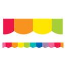 Carson Dellosa CD-108360 Rainbow Scalloped Borders Hello Sunshine