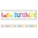 Carson Dellosa CD-108362 Hello Sunshine Straight Borders