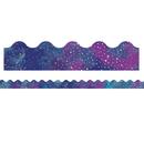 Carson Dellosa CD-108380 Galaxy Scalloped Borders