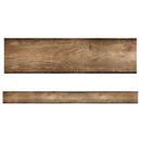 Carson Dellosa CD-108383 Wood Grain Straight Borders Woodland Whimsy