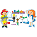 Carson Dellosa CD-110196 Community Helpers Bb Set
