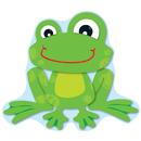Carson Dellosa CD-110207 Funky Frogs Bb Set