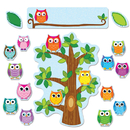 Carson Dellosa CD-110226 Colorful Owls Behavior Bb Set