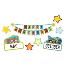 Carson Dellosa CD-110341 Hipster Birthday Bb Set