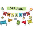 Carson Dellosa CD-110373 Celebrate Learning We R Amazing Bbs
