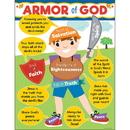 Carson Dellosa CD-114291 Armor Of God Chart