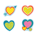 Carson Dellosa CD-120172 Hearts Cut Outs