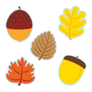 Carson Dellosa CD-120174 Leaves & Acorns Cut Outs
