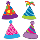 Carson Dellosa CD-120197 Party Hats Cut Outs