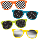 Carson Dellosa CD-120210 School Pop Sunglasses Cut Outs