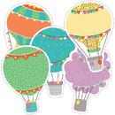 Carson Dellosa CD-120525 Hot Air Balloon Cutout Asst Gr Pk-5