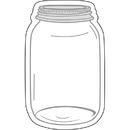 Carson Dellosa CD-120543 Industrial Chic Mason Jars Cut Outs