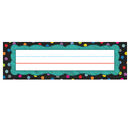 Carson Dellosa CD-122035 Colorful Chalkboard Nameplates