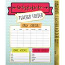 Carson Dellosa CD-136020 Aim High Substitute Teacher Folder