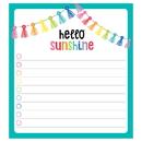 Carson-Dellosa CD-151100 Hello Sunshine Notepad